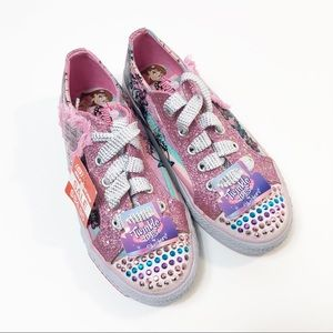 NWT Skechers Non-Light Up Twinkle Toes Sneakers